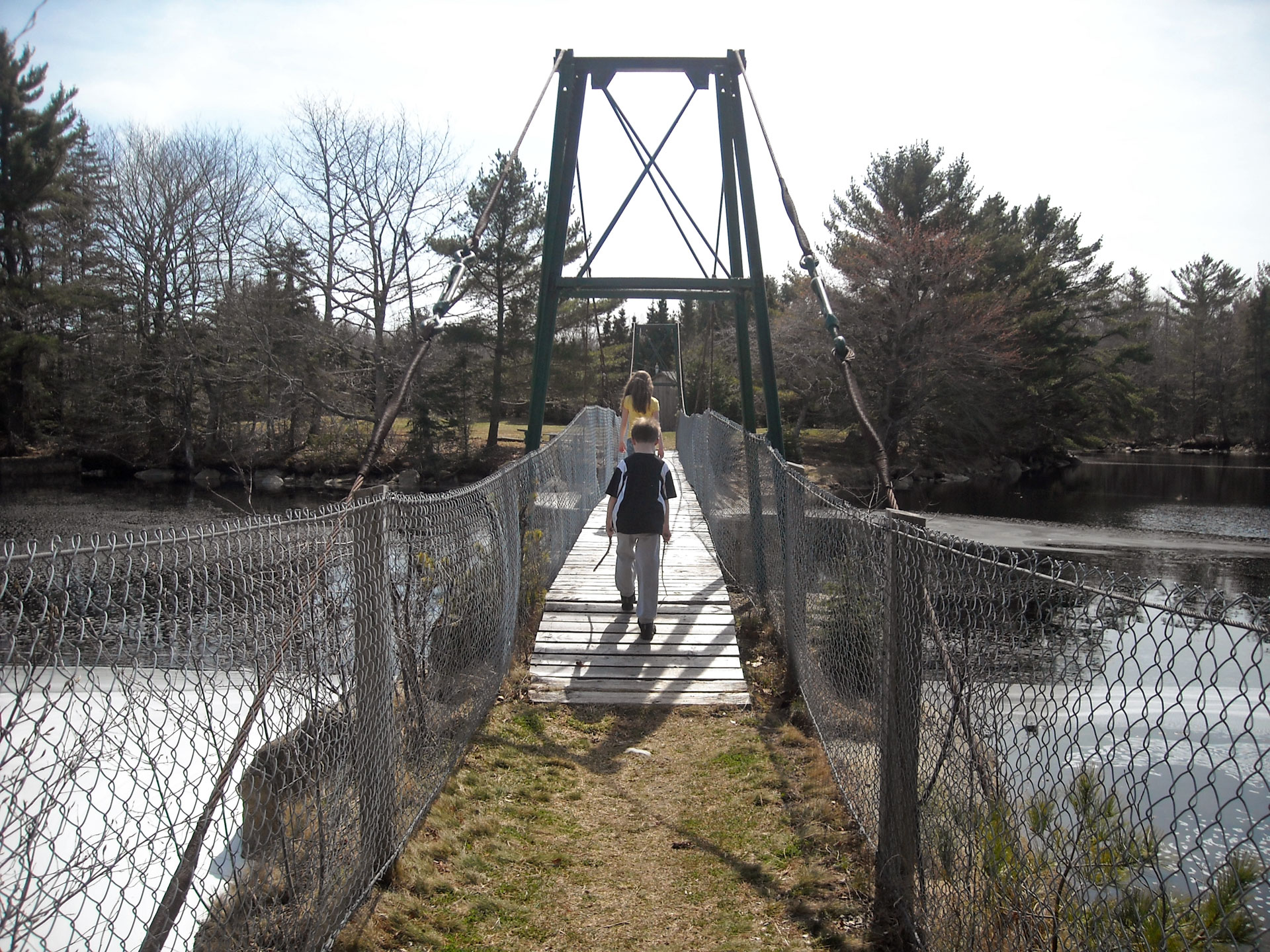 Sable River Foot Bridge Walking Trail