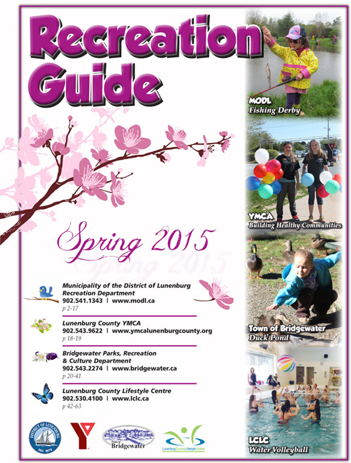 Town of Bridgewater Spring 2015 Recreation Guide