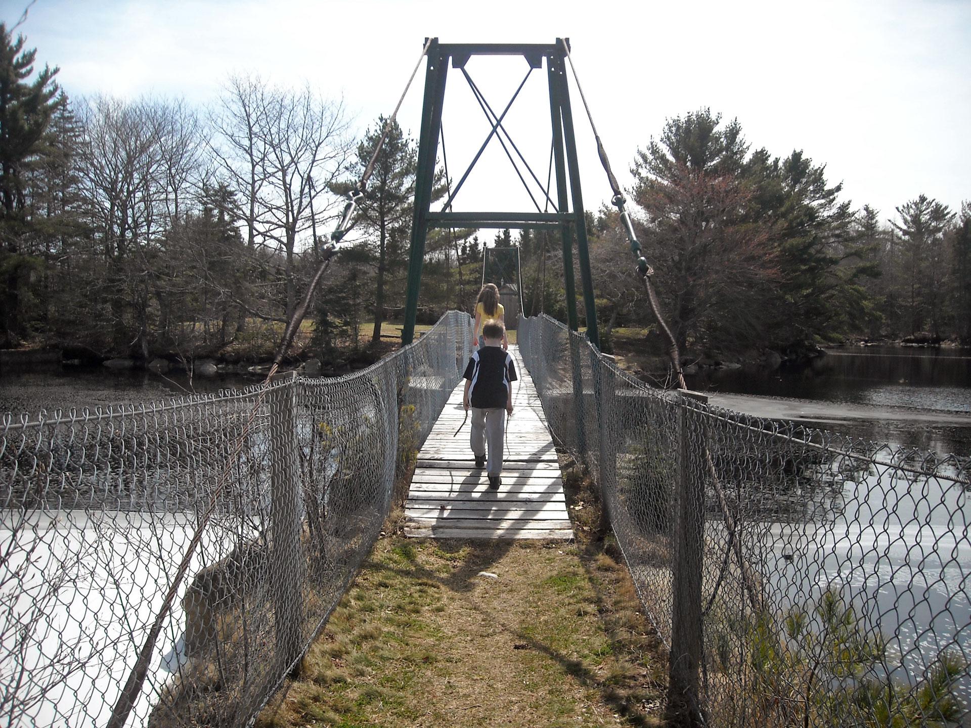 Sable River Foot Bridge Walking Trail