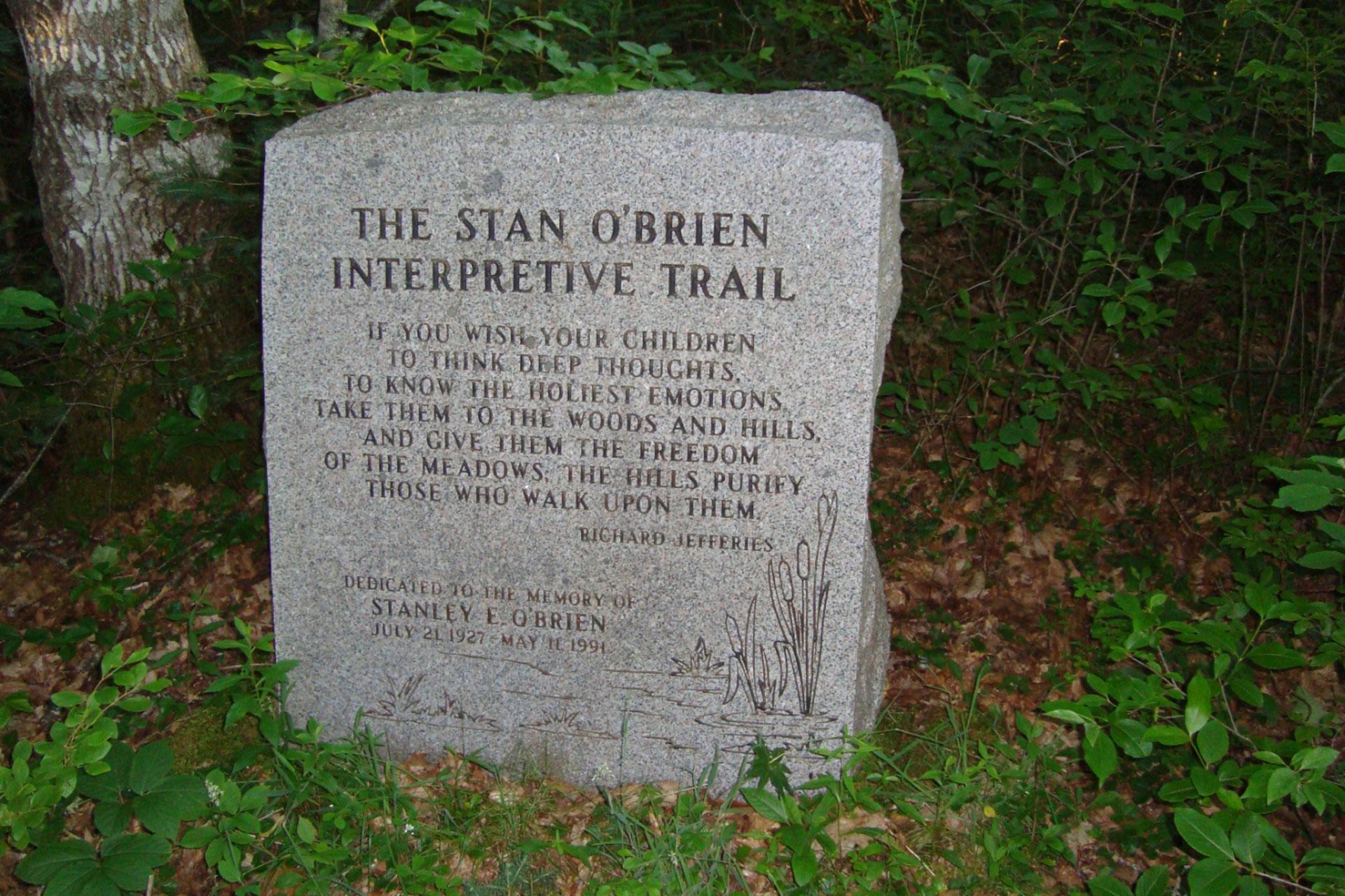 Stan O'Brien Interpretive Trail